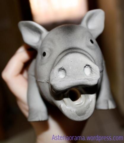 Cochon de près