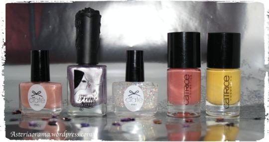 nail art printanier-vernis