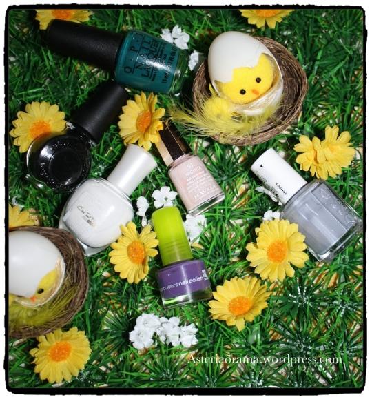 Nail art sur le thème de Pâques – Défi Secret Mask